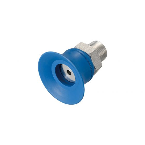Flat Suction Cup (Mark-Free/Blue) 25mm