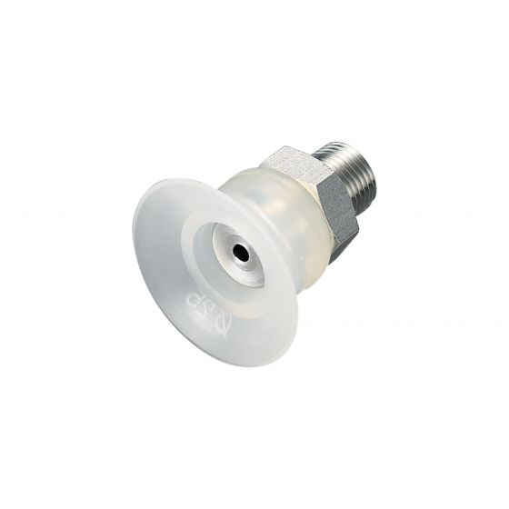 Flat Suction Cup (Silicon/Cloudy Transp) 25mm