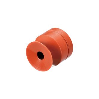 Suction Cup (Std/Silicon/Brown) 15mm