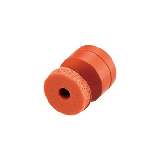 Suction Cup w/Sponge (Silicon/Brown) 15mm