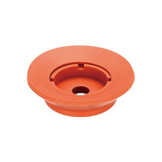 Suction Cup w/Sponge (Silicon/Brown) 60mm