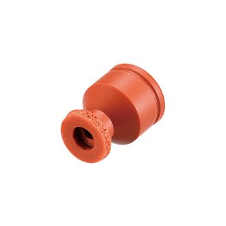Suction Cup w/Sponge (Silicon/Brown) 8mm