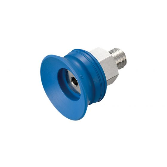 Flat Suction Cup (Mark-Free/Blue) 15mm