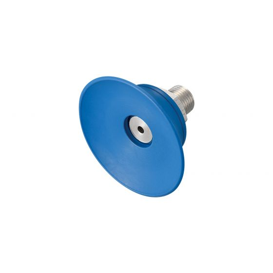 Flat Suction Cup (Mark-Free/Blue) 40mm