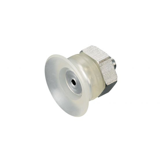 Flat Suction Cup (Silicon/Cloudy Transp) 20mm