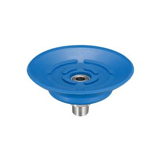 Flat Suction Cup (Mark-Free/Blue) 60mm