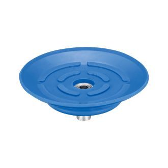 Flat Suction Cup (Mark-Free/Blue) 80mm