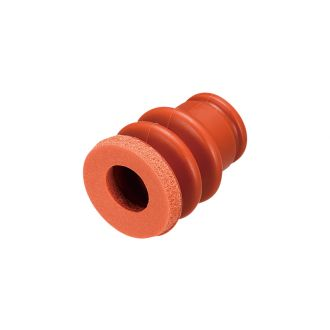 Suction Cup w/Sponge (Silicon/Brown) 20mm
