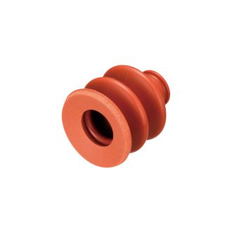 Suction Cup w/Sponge (Silicon/Brown) 40mm
